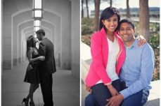 photography washington dc engagement portraits indian wedding kennedy center for the arts neha ripal