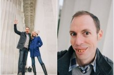 jason keefer photography washington dc wedding photographer engagement lincoln memorial funny