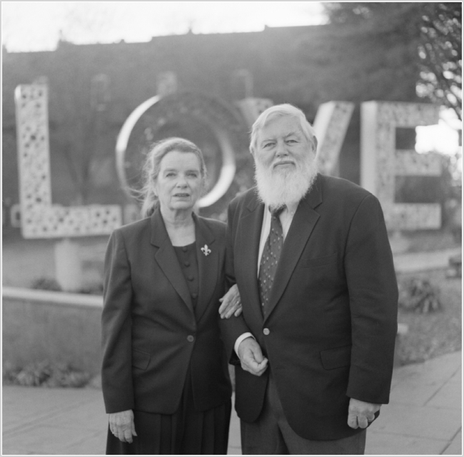 jason keefer photography love sign culpeper fifty year wedding anniversary black and white medium format film