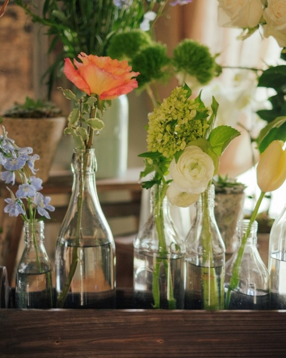foxtail cottage floral bottles charlottesville jason keefer photography