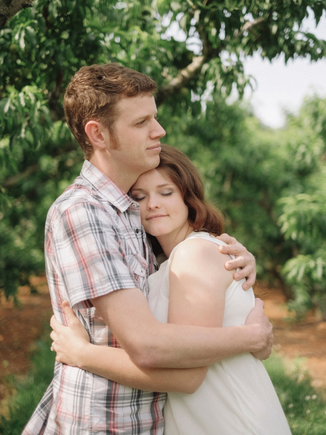 tammy keefer of jason keefer photography engagement portraits chiles peach orchard crozet va romantic