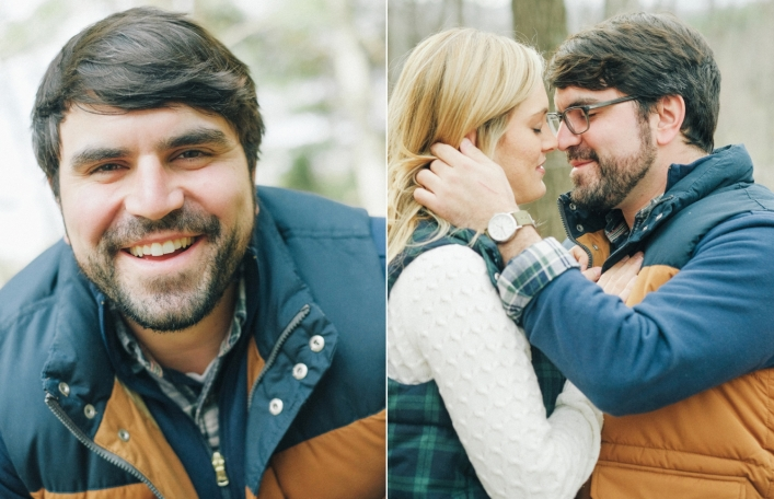 jason keefer photography charlottesville fall engagement kemper park monticello trail fun