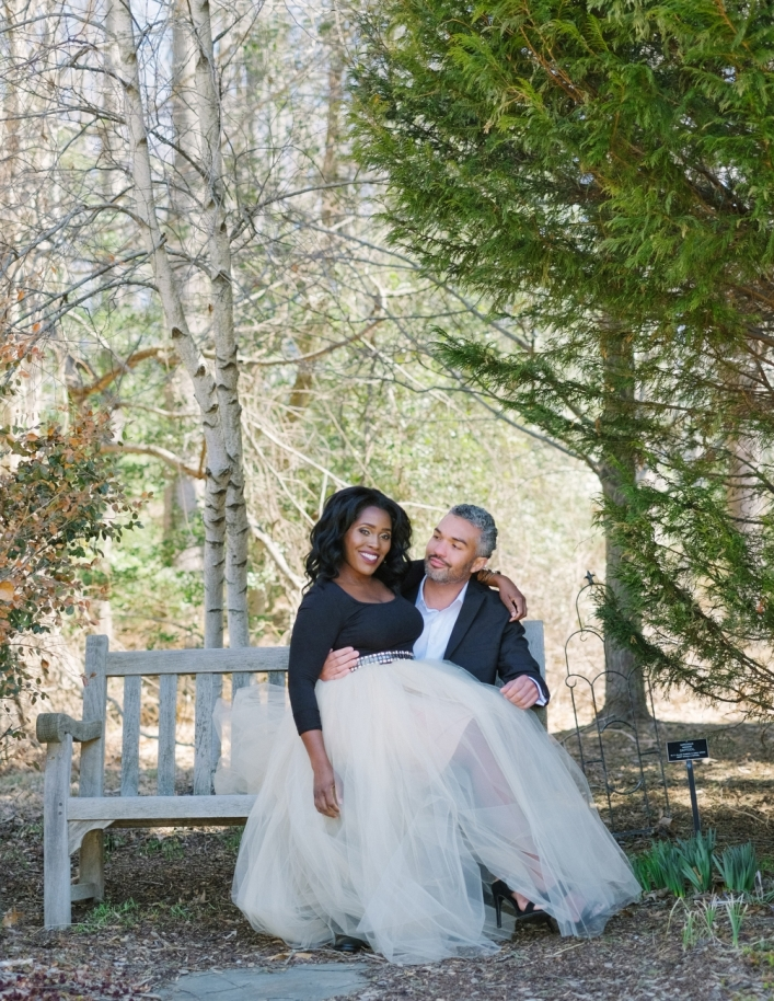 Charlottesville, VA - Jason Keefer Photography washington dc charlottesville engagement meadowlark garden gorgeous african american bride and groom