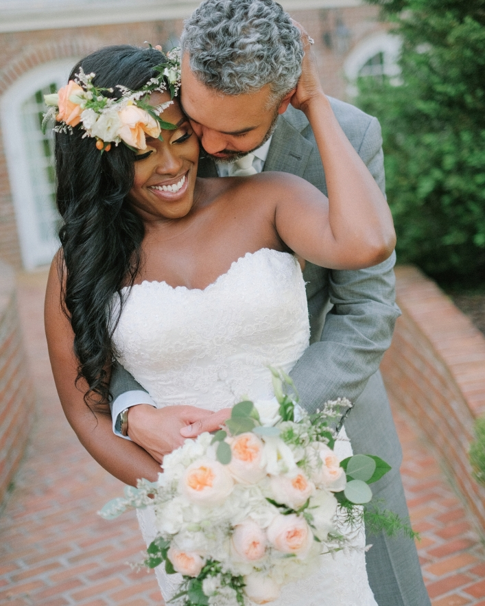 Charlottesville, VA Jason Keefer Photography the inn at willow grove orange wedding african american bride and groom portraits
