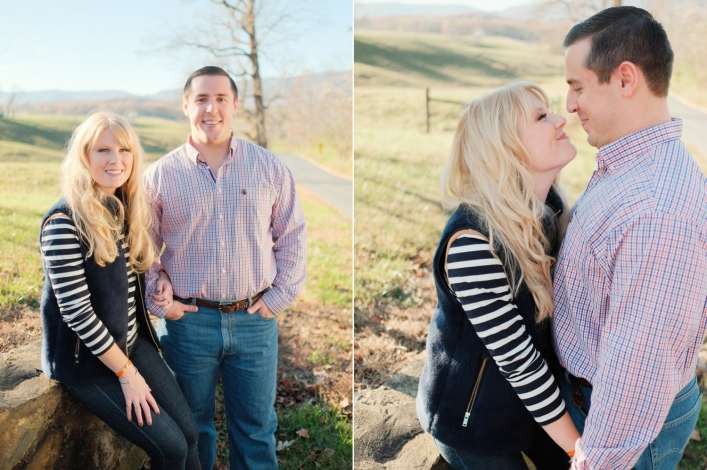 jason keefer photography charlottesville wedding engagement portraits winter north garden