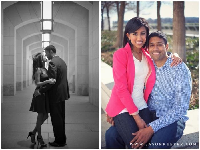 photography washington dc engagement portraits indian wedding kennedy center for the arts neha ripal
