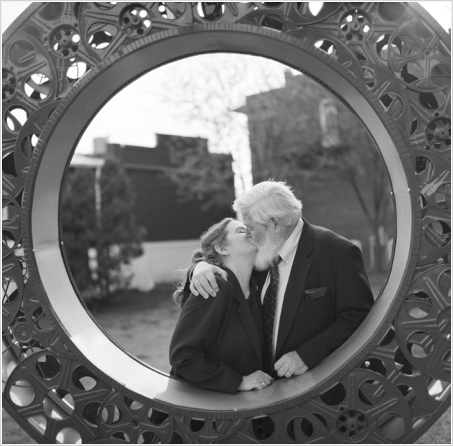 jason keefer photography love sign culpeper washington dc fifty year wedding anniversary black and white medium format film