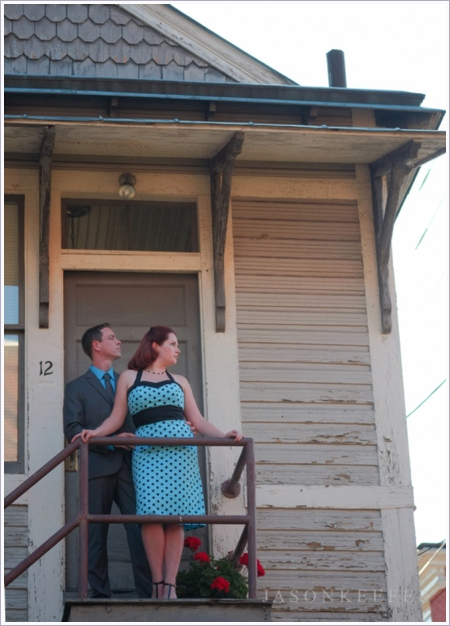 jason keefer photography charlottesville staunton waynesboro wedding photographer engagement portrait cute kitchy pin up