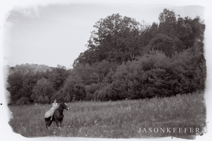jason keefer photography charlottesville harrisonburg lexington wedding photographer bride on horseback wedding