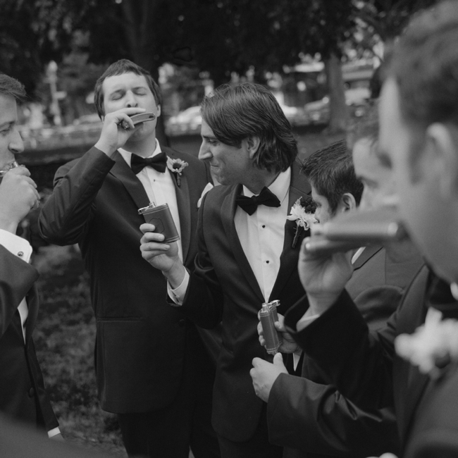 jason keefer photography dupont circle hotel wedding dc groom and groomsmen black and white